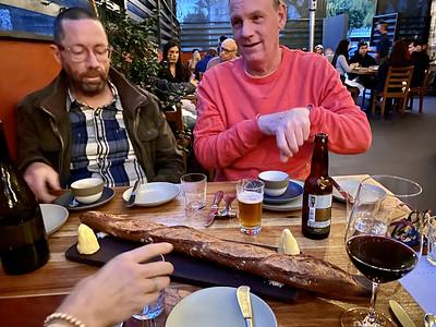 2021.03.14 Christopher birthday dinner at Republique