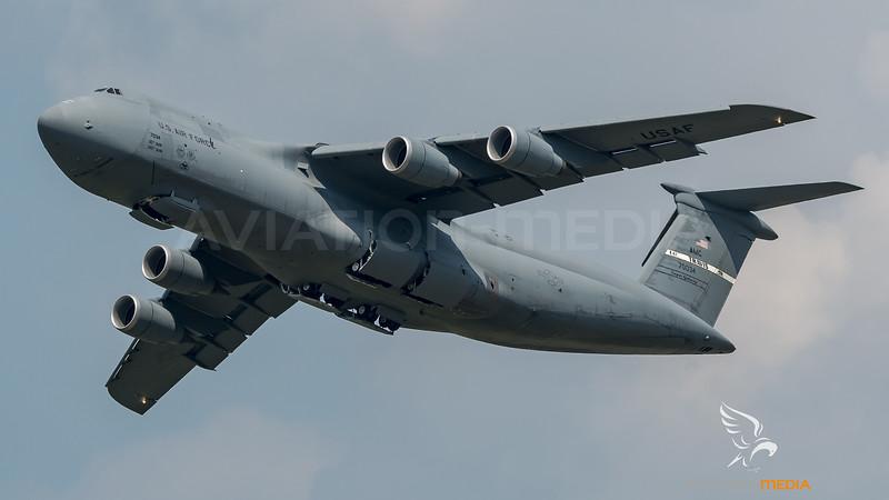 US Air Force / Lockheed C-5M Galaxy / 87-0034