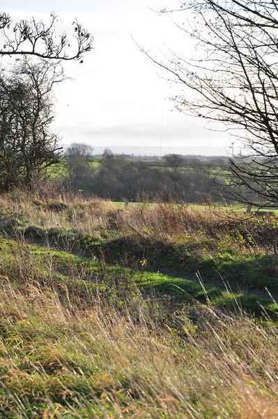 Anenometer mast Lamb's Hill from Moor House farm - Richard Cowen.JPG