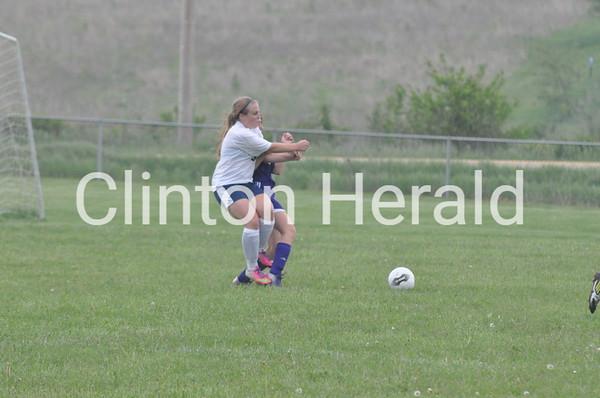 Central DeWitt at Northeast girls soccer (5-28,29-13)