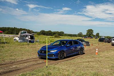 27 Blue Honda Civic