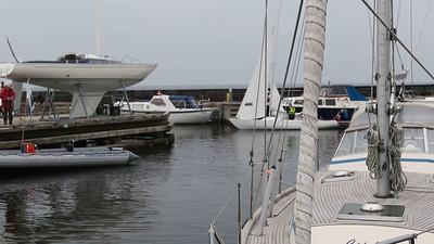 Standerhejsning i Taarbæk Sejlklub