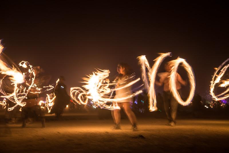 Yo!  Firedancing