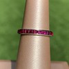 Art Deco Sapphire and Ruby Matched Bands, by Tiffany & Co 2