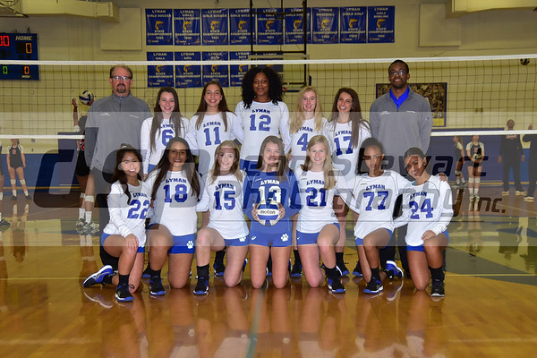 Lyman Girls JV Volleyball 9-25-28