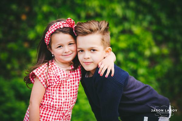 Daniel & Olivia Spring Portrait