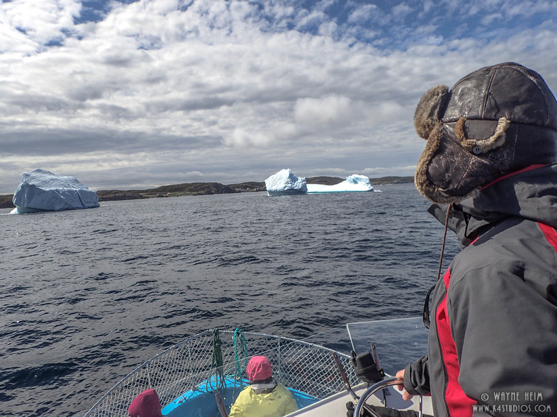 Watching Icebergs     Photography by Wayne Heim
