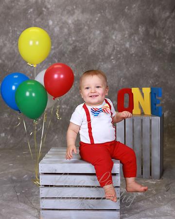 REAGAN'S FIRST BIRTHDAY