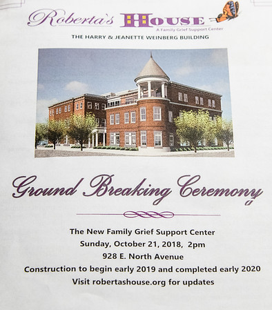 March Funeral Home - Roberta's House - Ground Breaking Ceremony
