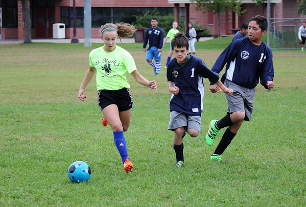 Saint Mark's vs Community of Peace - Sep 17, 2016