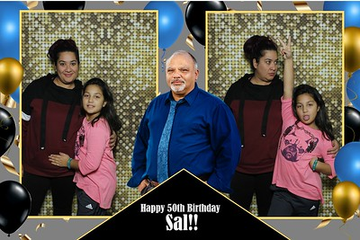2018-11-18 Sal's 50th Surprise Birthday Party Photo Booth Pics