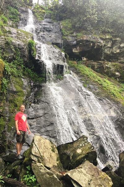 Gabes Mountain Trail, Hen Wallow Falls