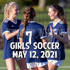 Prairie Girls Soccer Action 2021