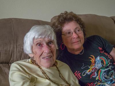 Debbie K & Mom