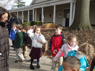 PRE-K VISITS THE LENAPE VILLAGE