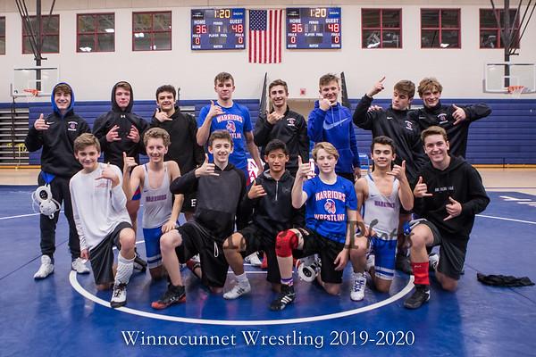 2019-12-11 WHS Wrestling vs Goffstown
