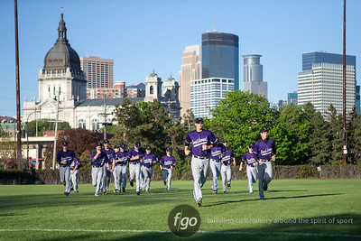 5-8-15 Sleepy Eye St Mary's v Minneapolis Southwest Baseball at Parade Stadium