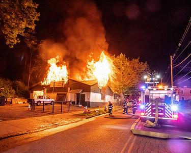 Commercial Structure Fire - #5 Parker Avenue - City of Poughkeepsie Fire Department -6/11/2021