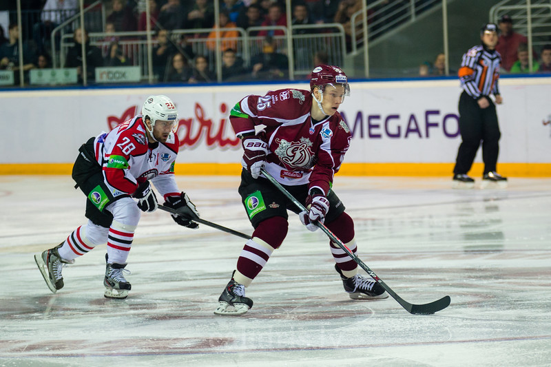 Yakutsenya Maxim (28) un Andris Džeriņš (25)