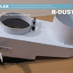 SKU: R-DUST/80, 80mm Spindle Dust Hood with Replaceable Brushes and 100mm Hose Connector
