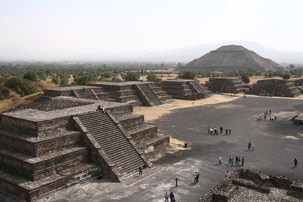 Mexico City, Teotihuacan, Puebla, Oaxaca