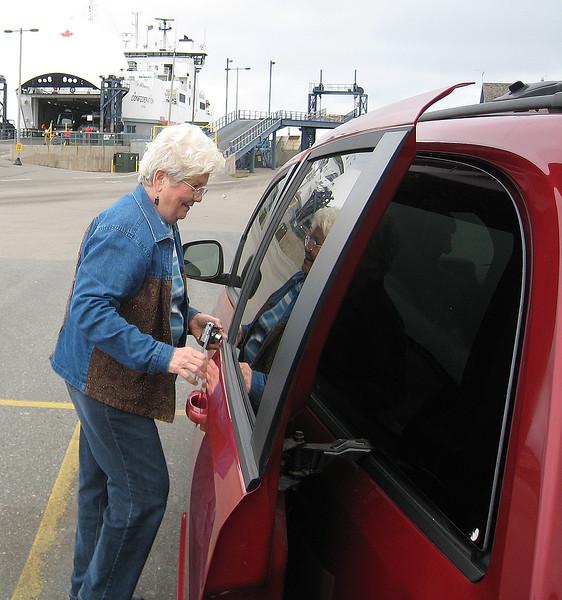 Ferry from Nova Scotia to Wood Island, Prince Edward Island, September 18, 2008