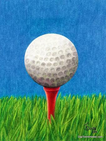 Waialae Golf Club -Pauline