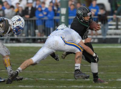 Glenbard West vs Wheaton North football playoffs