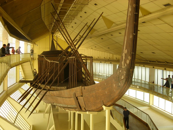 The Solar Boat at Giza