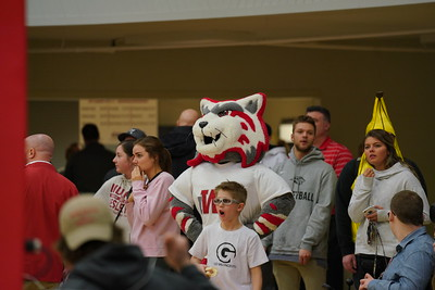 IWU Men's Basketball Crossroads League Champions over MVN  2-26-19