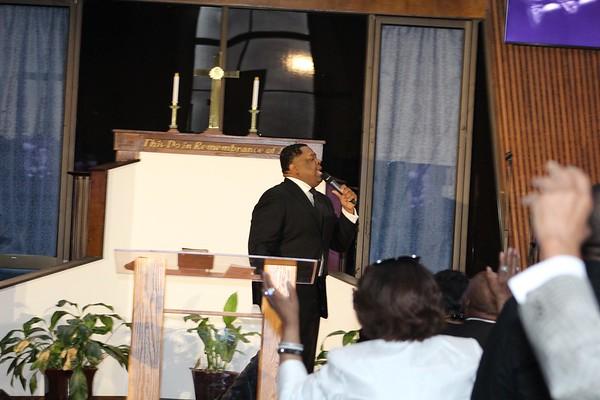 Brittney's reception NBBC 23 Sept Pastor Hurd
