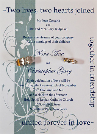 Nora Ana and Chris Budjinski Wedding