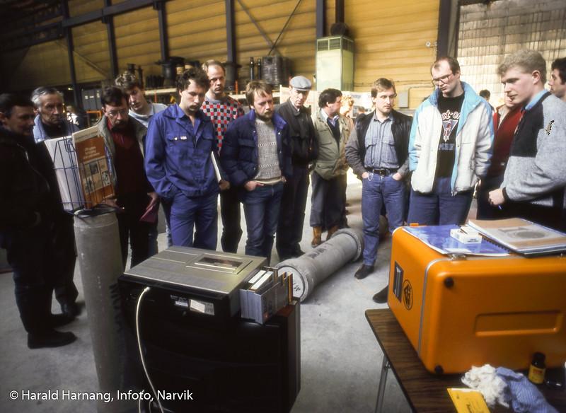 Beisfjord sementvarefabrikk i Beisfjord arrangerte mange år messe for sine kunder, der også leverandører stilte ut, og det var flere faglige foredrag.