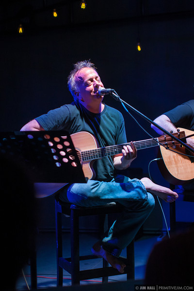 Aaron Freeman aka Gene Ween, accompanied by Joe Young performing at Blackbird Ordinary Feb 21 2013 Miami FL