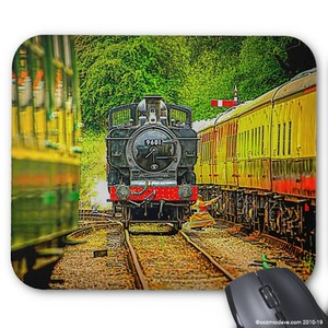 Mouse Mats: Subject - Steam Trains