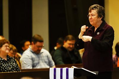 Mar 16, 2014 - 9:30 Mass by Fr. Jack Buckalew