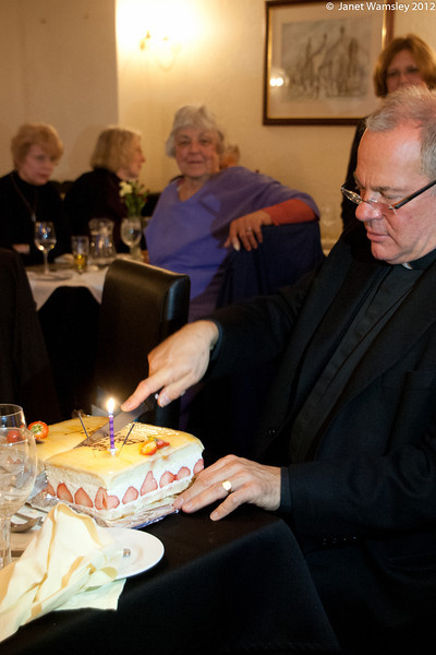 Fr. Andrew and the cake