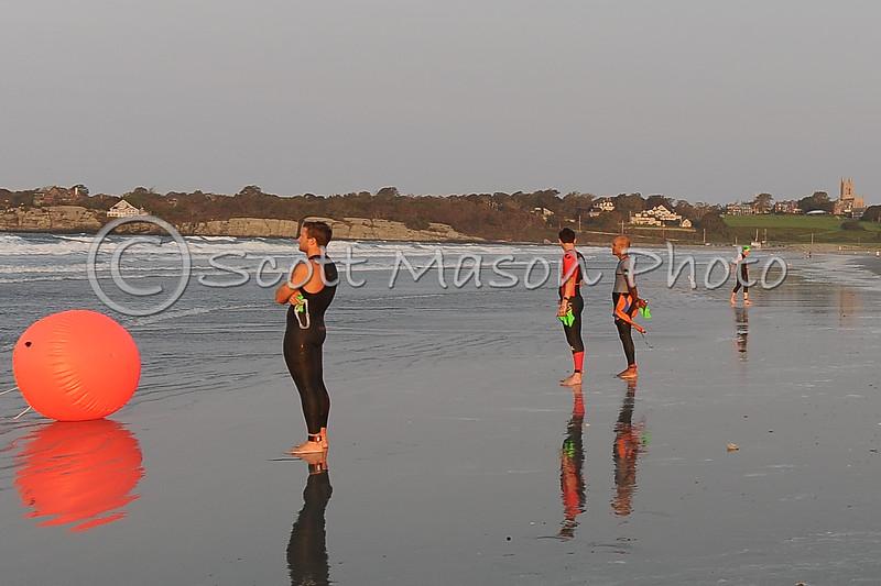 Newport Triathlon 2021 Sprint Swim Start