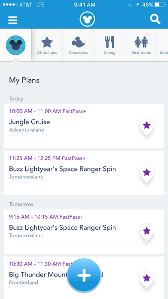 New FP+ Reservation Confirmed - Magic Kingdom Walt Disney World