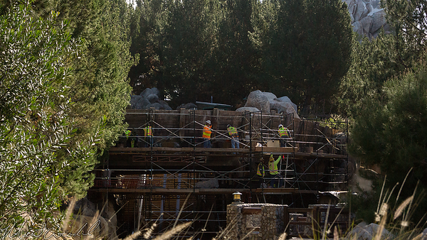 Disneyland Resort, Disney California Adventure, Grizzly Peak, Grizzly River Run, Refurbishment
