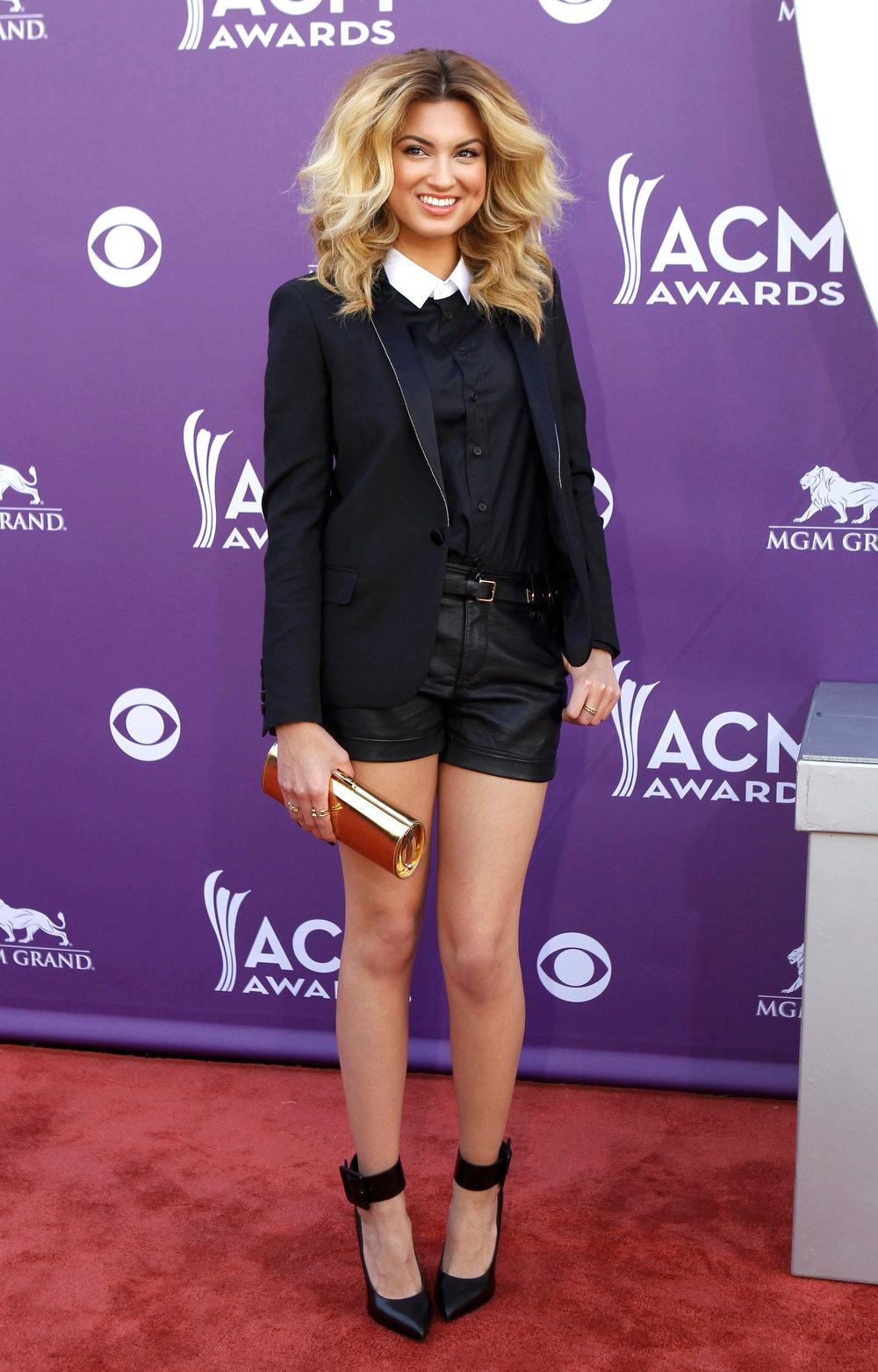 . Singer Tori Kelly arrives at the 48th ACM Awards in Las Vegas, April 7, 2013.  REUTERS/Steve Marcus