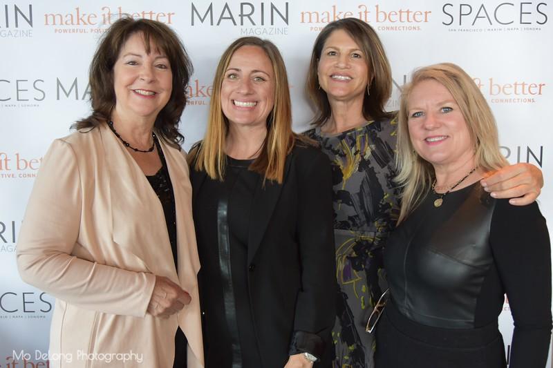 Michele Johnson, Leah Bronson, Lesley Cesare and Dana Horner