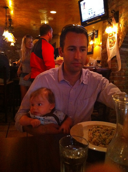 Luca's first visit to Antico Forno.