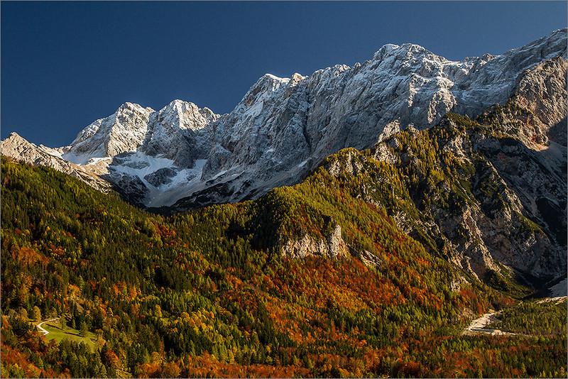 Autumn in Jezersko