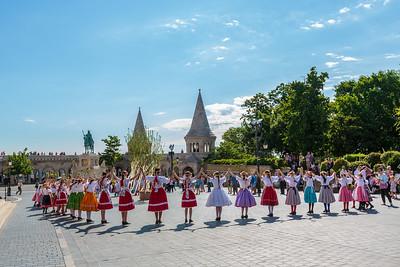 Matthias Church Folk Dance
