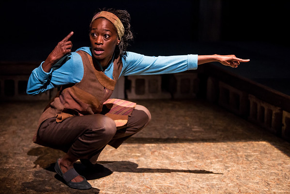 Sonja Parks in Seedfolks at Children's Theatre Co.