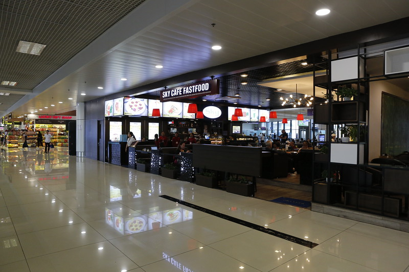 Modern Airport for domestic flights
