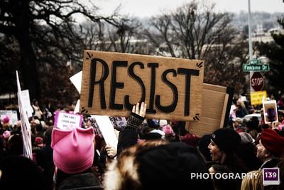 Women's March - Des Moines - 2017