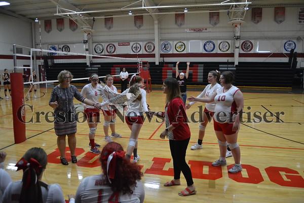 9-7 Orient Macksburg-Lamoni volleyball
