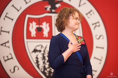Rosa Singer Seattle Univeristy Alumni Award Ceremony